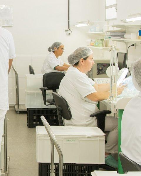 Processamento de materiais cirúrgicos